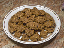 Plate of fresh cookies 19. Photo image of a plate of fresh cookies Royalty Free Stock Photography