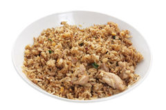 Plate of Fried Rice Stock Photography