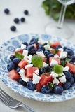A plate of fruit salad Royalty Free Stock Photos