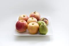 A plate of fruit Stock Photos