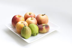 A plate of fruit Royalty Free Stock Images
