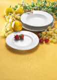 Plate of fruits Royalty Free Stock Images