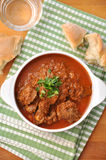 Traditional beef goulash Stock Image