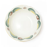 Plate isolated. Plate with graphic isolated over white Stock Image
