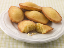 Plate of Madeleine's Stock Photos