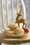 Plate Of Mince Pies Stock Images