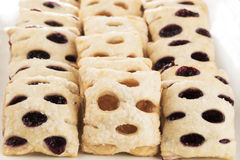 Plate of Mini Strudels Stock Photography