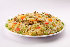 Plate of Mutton Biriyani . Stock Image