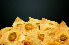Plate of Nachos 2 Royalty Free Stock Photography