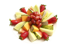 Plate Of Fruit Royalty Free Stock Image