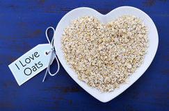 Free Plate Of Nutritious And Healthy Oat Flakes Stock Photo - 50805720