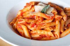Free Plate Of Penne Pasta Stock Photos - 16155663