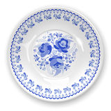 Plate with ornament Royalty Free Stock Photography