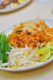 Plate of Pad Thai Stock Image