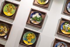 Plate painting Stock Photos