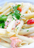 Plate of pasta Royalty Free Stock Photography