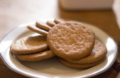 Biscuits or cookies Royalty Free Stock Images