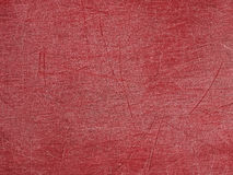 Plate plastic red scratches Royalty Free Stock Photos