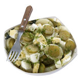 A plate of potato salad Stock Images