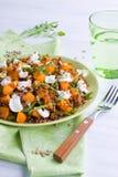 Plate of quinoa salad Royalty Free Stock Photo