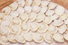 A plate of ravioli Royalty Free Stock Images