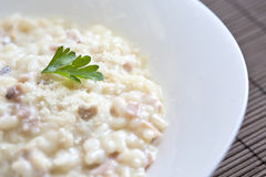 Plate of risotto Royalty Free Stock Photo