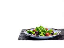 Plate of salad Stock Image