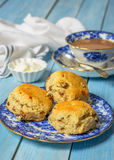 Plate Of Scones Royalty Free Stock Image