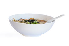 Plate of soup Stock Image