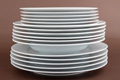 Plate stack Stock Images