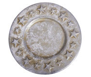 Plate with stars Royalty Free Stock Photo