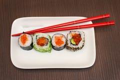 Plate sushi Royalty Free Stock Image