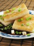 Plate of Taro Cakes Royalty Free Stock Photo