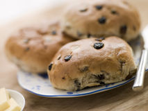 Plate of Tea Cakes Royalty Free Stock Photos