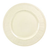 Plate on white background Stock Photography