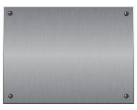Plateado de metal Ilustración del Vector