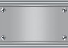 Plateado de metal Imagenes de archivo