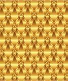 Plateado de metal de oro ilustración del vector