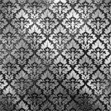 Plateado de metal de plata Imágenes de archivo libres de regalías