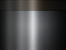 Plateado de metal gris oscuro Fotos de archivo libres de regalías