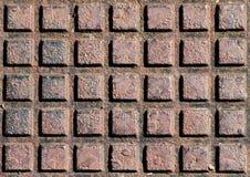 Plateado de metal oxidado Imagen de archivo