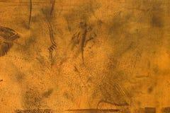 Plateado de metal oxidado Imagenes de archivo