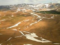 Plateau énorme roumain Images stock