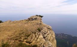 On the plateau of AI-Petri mountain.  stock image