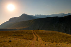 Plateau Altai region Royalty Free Stock Photography