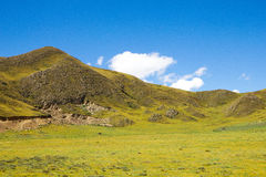 Plateau in China Royalty Free Stock Image