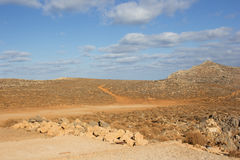 Plateau in Crete Royalty Free Stock Photography