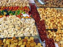 Plateau délicieux de bonbons image libre de droits