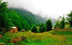 Plateau d'Ayder Photo libre de droits