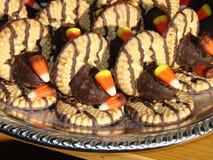 Plateau de biscuit Photographie stock
